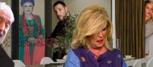 Lydia Lozano, este jueves en 'Sálvame' (Captura de Telecinco)