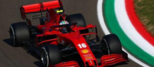 Ferrari Charles Leclerc, Gran Premio Emilia Romagna mondiale Formula 1