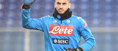 Napoli, il portiere Alex Meret.