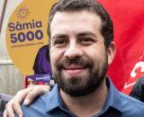 Guilherme Boulos (PSOL) defende união da esquerda para derrotar Jair Bolsonaro (Sâmia Bomfim/Flickr)