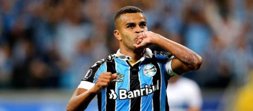 Alisson se mostra desgastado com a torcida gremista (Lucas Uebel/Grêmio)