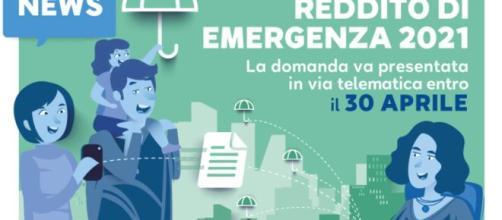 E' possibile presentare domanda per il reddito di emergenza fino al 30 aprile 2021