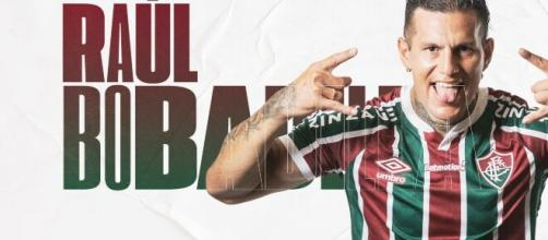 Fluminense oficializou recentemente a contratação de Raúl Bobadilla. (Divulgação/Fluminense FC)