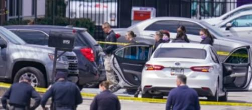 Indianapolis community mourns victims of gun violence in FedEx facility (Image sourc: CBS Evening News/YouTube)