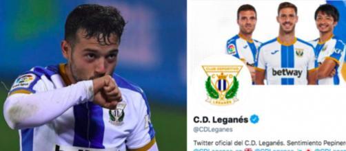 Leganés trolle le projet de Super League - Photo captures d'écran Instagram et Twitter