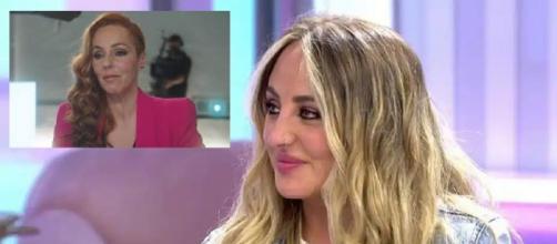 Rocío Flores, en 'El programa de AR' (Capturas de Telecinco)