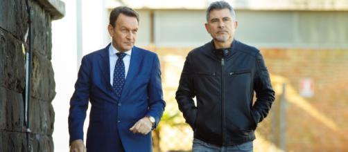 Un posto al sole, Roberto Ferri (Riccardo Polizzy Carbonelli) e Franco Boschi (Peppe Zarbo).