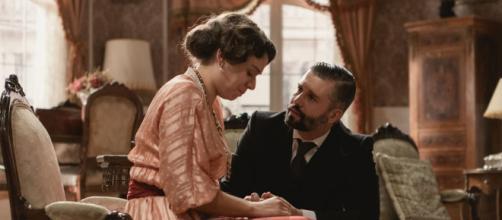 Una Vita, spoiler: Genoveva e Felipe.