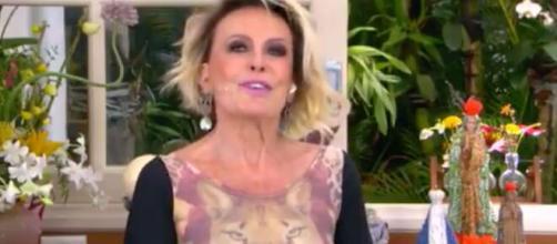 Ana Maria Braga ganhou felicitações em aniversário de 72 anos (Reprodução/TV Globo)