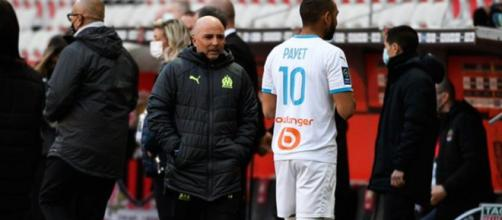 Sampaoli veut relancer Payet (Credit Twitter @le10sport)