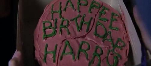 Torta di compleanno di Harry Potter.