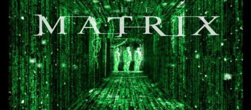 Una delle locandine del film Matrix.