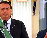 Presidente Jair Bolsonaro elogiou o braço das Forças Armadas neste Dia do Exército (Reprodução/Facebook)
