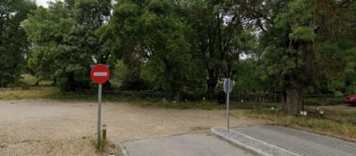 Acceso a la Casa de Campo (Google Street View)