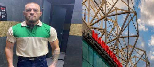 Conor McGregor voudrait racheter Manchester United (Credit : Twitter Conor McGregor et Manchester United)
