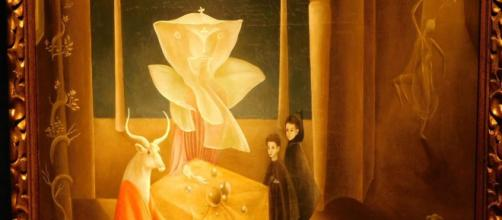 Leonora Carrington's 'And Then We Saw the Daughter of the Minotaur' (Image source: Yaotl Altan/Flickr)