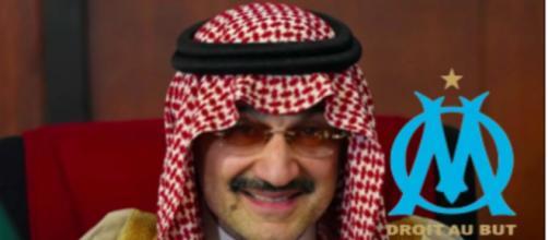 L'OM pourrait passer sous pavillon saoudien grâce à la Super League - Photo captue d'écran YouTube et Logo OM wikipédia