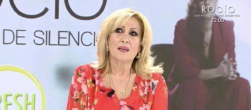 Rosa Benito, en el plató de 'Ya es mediodía' (Captura de Telecinco)