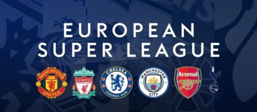La fin du projet Super League serait proche - Source : Photo capture d'écran European Super League