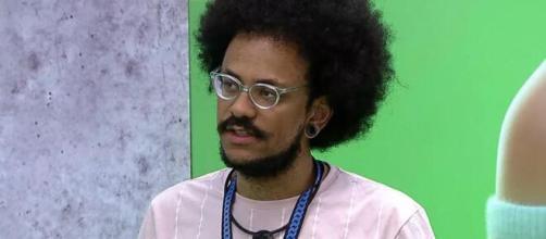 'BBB21': enquete UOL indica eliminação de João Luiz (Reprodução/TV Globo)