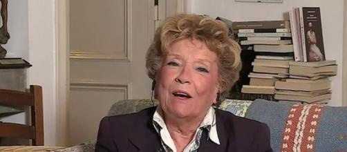La scrittrice toscana Dacia Maraini, ospite a DiMartedì.