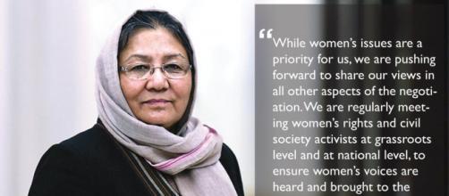Habiba Sarabi: 'Con i Talebani non c'è dialogo, noi donne rischiamo di perdere tutto'.