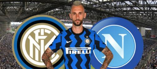 Inter, Brozovic vicino al Napoli l'anno scorso.