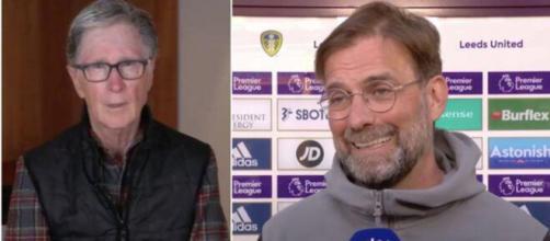 Le président de Liverpool s'excuse publiquement - Photo capture d'écran vidéos Twitter et YouTube