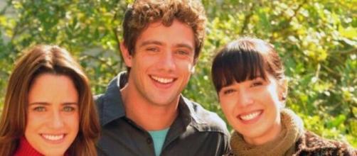 Ana, Rodrigo e Manu em 'A Vida da Gente' (Reprodução/TV Globo)