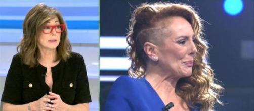 Ana Rosa Quintana, este jueves, criticando a Rocío Carrasco (Captura de Telecinco)