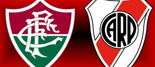 Fluminense x River Plate será no Maracanã (Arte/Eduardo Gouvea)