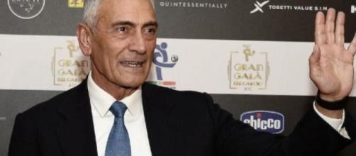 Gabriele Gravina, presidente della Figc.