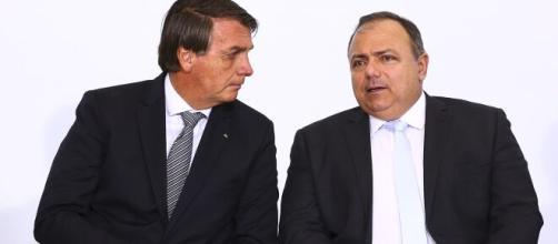 Insistência de Pazuello em Bolsonaro em não usa máscara pode pesar contra eles na CPI da Covid (Marcelo Camargo/Agência Brasil)