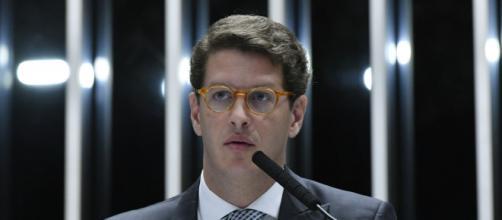 Ministro Ricardo Salles é criticado (Geraldo Magela/Agência Senado)