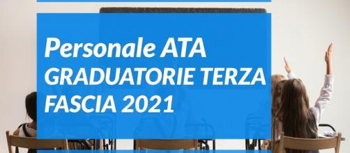 Personale ATA graduatorie terza fascia 2021: prorogata al 26 aprile la scadenza per la presentazione della domanda.