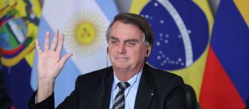 Presidente Jair Bolsonaro participa de Cúpula do Clima em meio a críticas da comunidade ambiental internacional (Marcos Corrêa/PR)