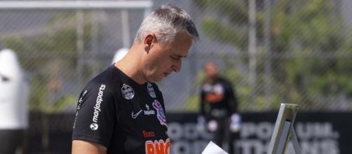 Tiago Nunes sofreu críticas durante sua passagem pelo Corinthians (Daniel Augusto Jr./Agência Corinthians)