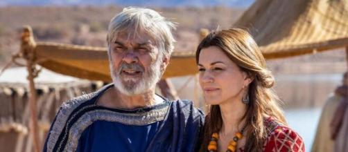 Abrão e Sarai em 'Gênesis' (Reprodução/Record TV)