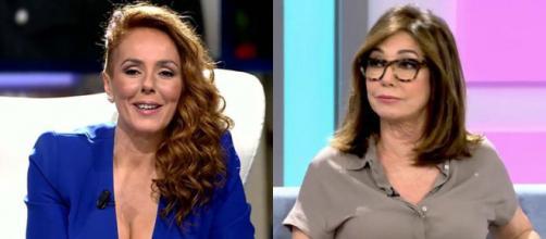 Ana Rosa ve contradicciones en el relato de Rocío Carrasco. (Imágenes Telecinco)