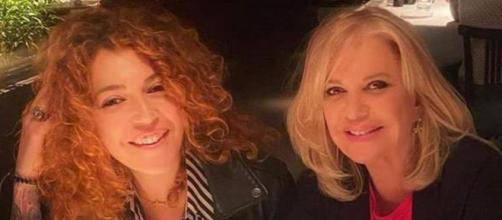 Barbara Rey y su hija en una foto de Instagram (@sofiacristo_cristo)