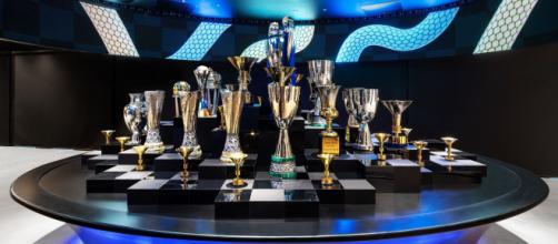 Le coppe e i trofei vinti dall'Inter.