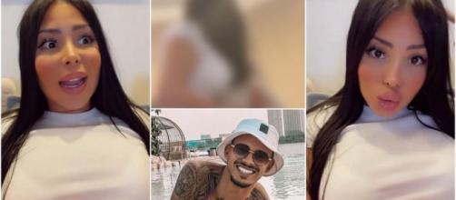 Maeva (LMAD) filmée à son insu sur Snapchat en train de parler de Greg, elle se dispute violemment avec Akram.