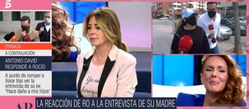 Marisa Martin-Blázquez revela detalles de la entrevista a Rocio Carrasco en el programa de AR. (Foto: telecinco.es)