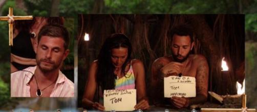 Olga Moreno aprovecha su nominación a Tom para felicitar el cumpleaños a Antonio David (@supervivientes)
