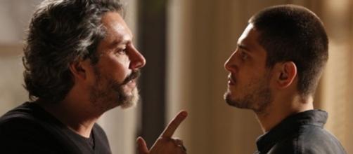 Zé e Pedro em 'Império' (Reprodução/TV Globo)