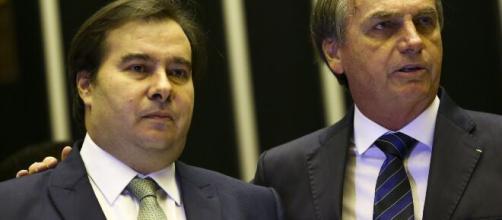Maia defende frente para vencer Bolsonaro na eleição de 2022. (Arquivo Blasting News)