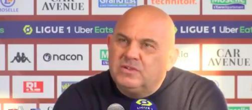 Le coup de gueule d'Antonetti sur la mentalité du PSG - Photo capture d'écran vidéo BeIn