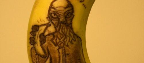 'We must feed you a banana' by Anna Chojnicka (mage source: Larissa Sayer/Flickr)
