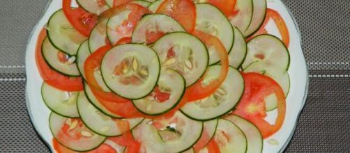 Evitar a combinação de tomate e pepino é essencial. (Arquivo Blasting News)