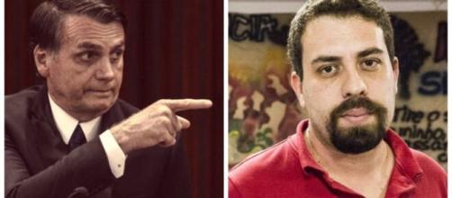 Guilherme Boulos, do PSOL, é um dos nomes emergentes da esquerda (Fotomontagem/Reprodução)